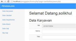 penomoran otomatis php